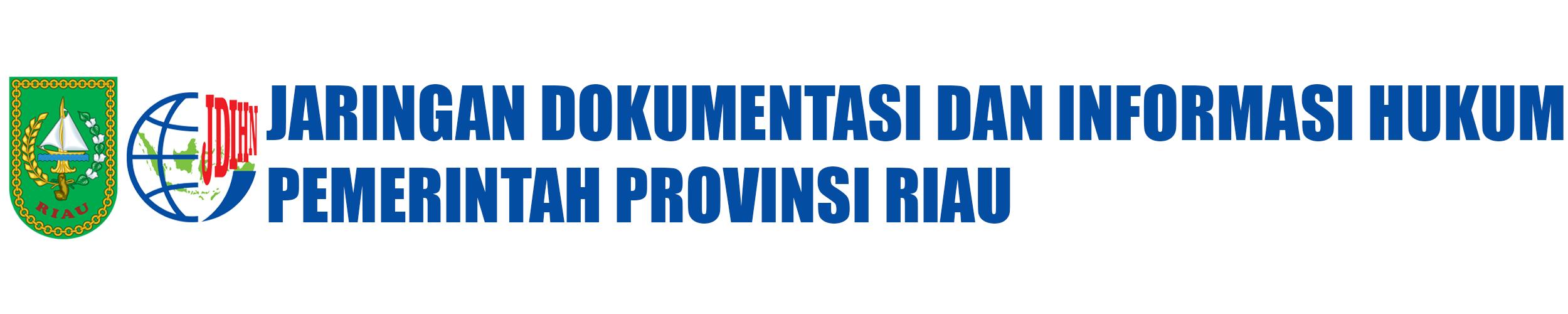 Jaringan Dokumentasi dan Informasi Hukum Pemerintah Provinsi Riau