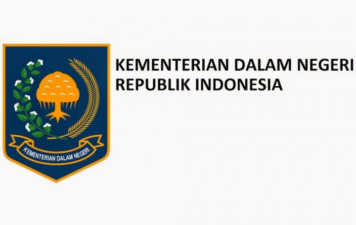 Website Resmi Kementrian Dalam Negeri Republik Indonesia